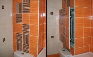 скрытые люки для ванной